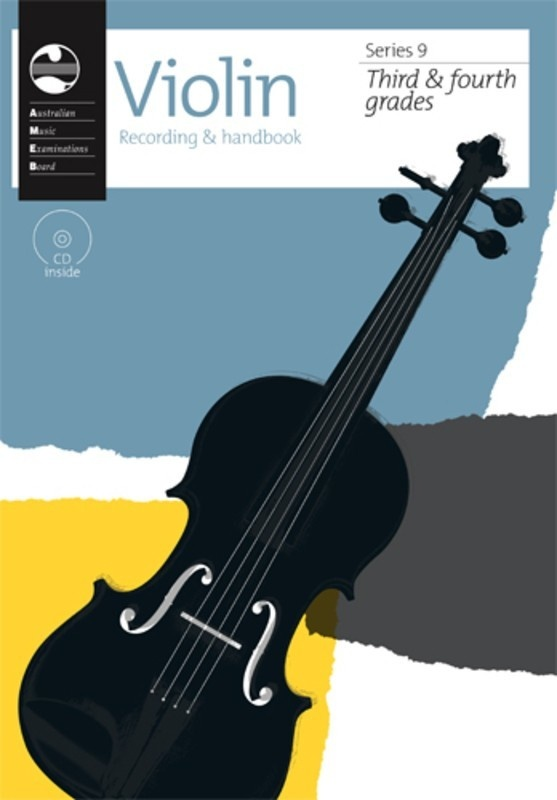 Ameb Violin Grade 3 To 4 Series 9 Cd/handbook
