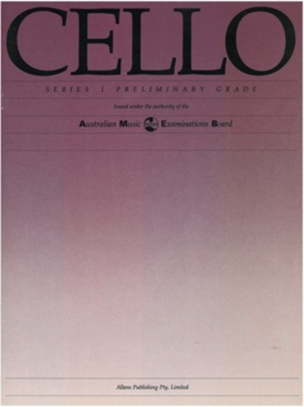 CELLO PRELIMINARY GRADE SERIES 1 AMEB VINTAGE