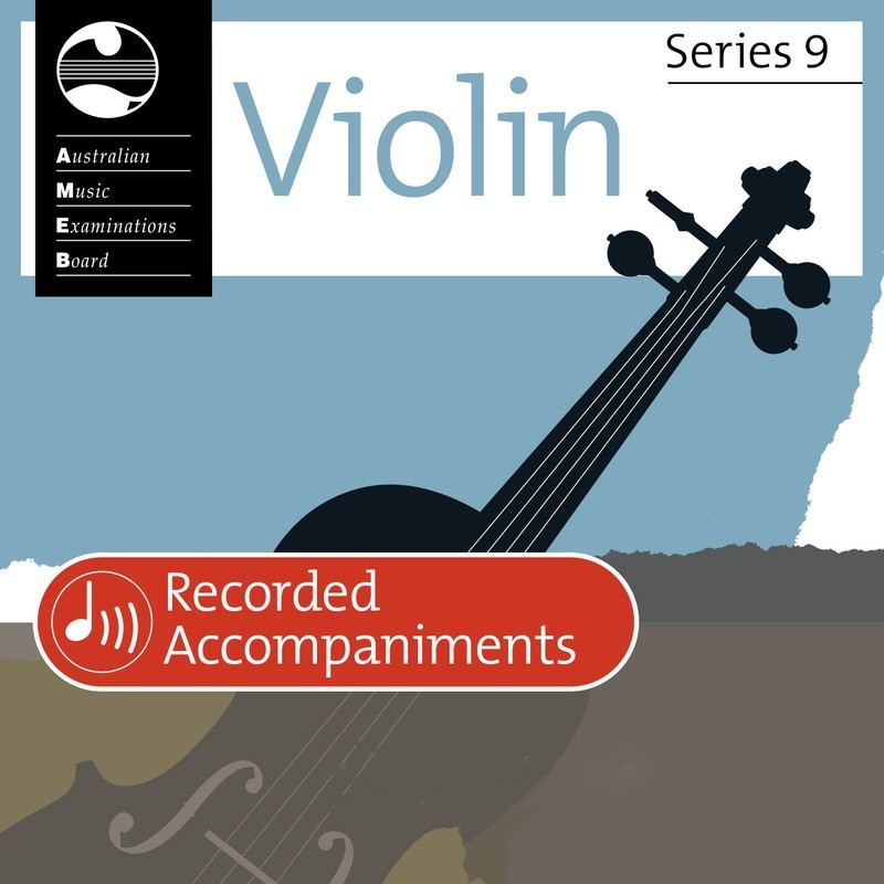 Ameb Violin Grade 2 Series 9 Recorded Accomp Cd