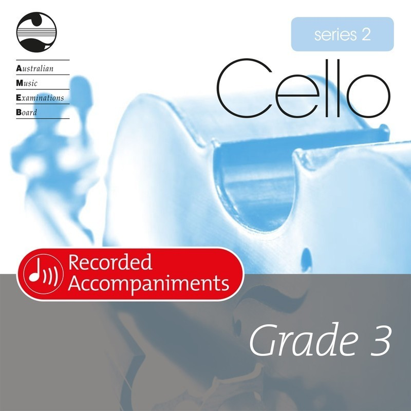 AMEB CELLO GRADE 3 SERIES 2 RECORDED ACCOMP CD