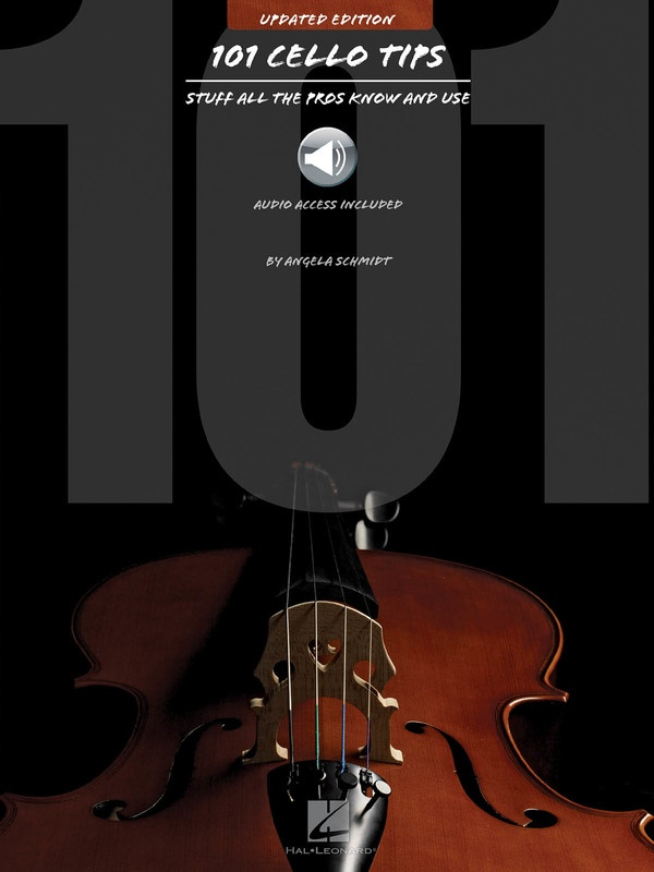 101 CELLO TIPS - UPDATED EDITION BK/OLA