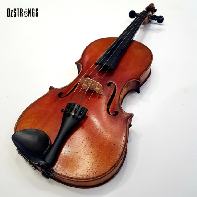 4/4 Violin German Trade Turn of the Century (Used)