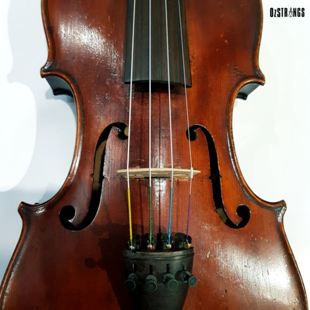 4/4 Violin German Made Turn of the Century