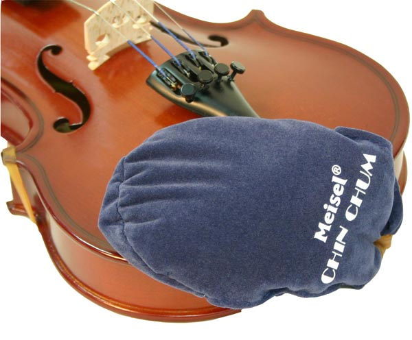 "Chin-Chum Violin Chinrest Cover 1/16-1/2 (also fits 11"" and 12"" viola!)"
