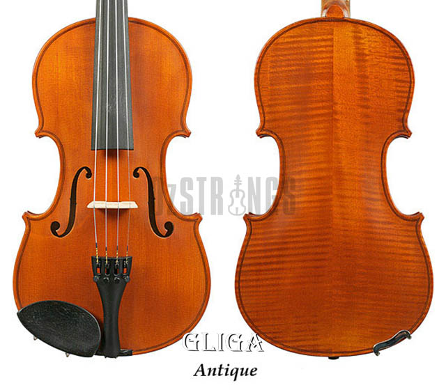 Gliga I Violin Outfit Antique Finish - 4/4 Size