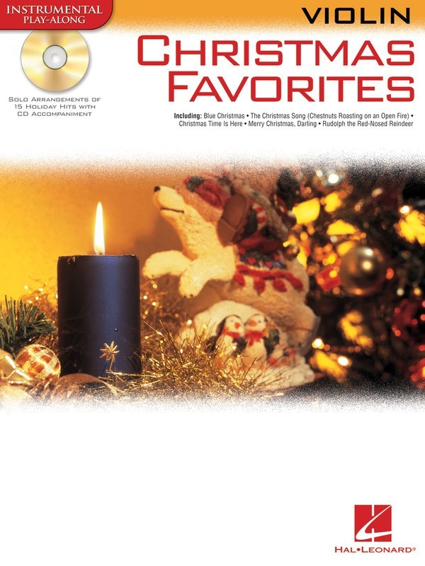 CHRISTMAS FAVORITES FOR VIOLIN BK/CD