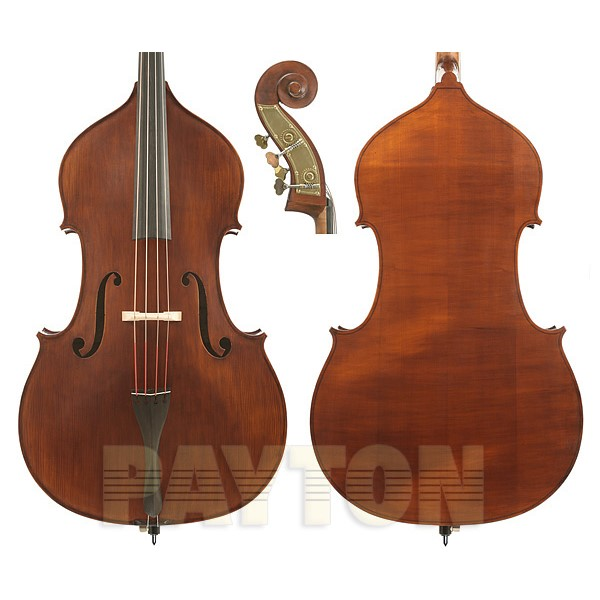 Gliga III German Style Bass Outfit Solid Oil-Aged Dark Antique Finish - 3/4 Size