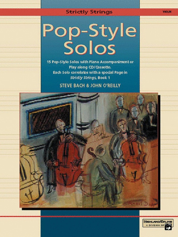 STRICTLY STRINGS POP STYLE SOLOS VIOLIN