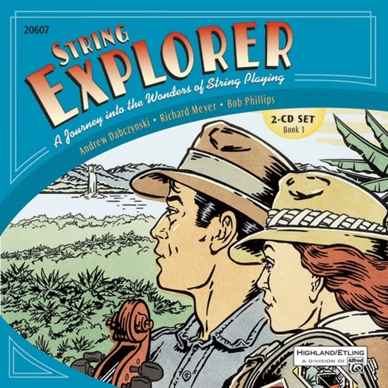STRING EXPLORER BK 1 2 CD SET