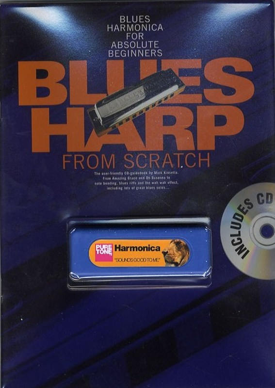 Blues Harp From Scratch Bk/cd + Harp