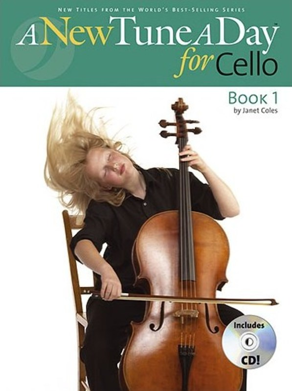 A New Tune A Day Cello Bk 1 Bk/cd
