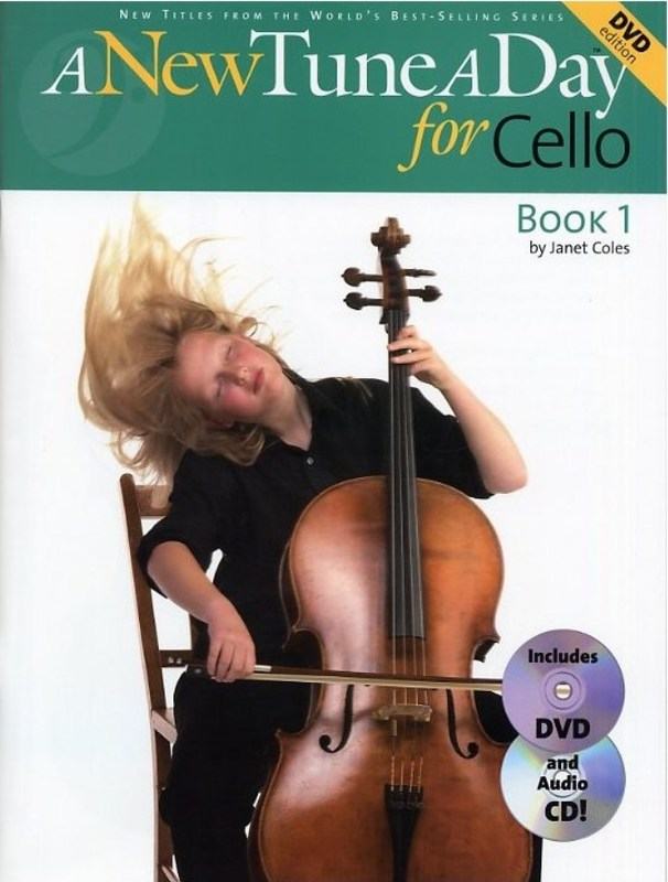 A New Tune A Day Cello Bk 1 Bk/cd/dvd