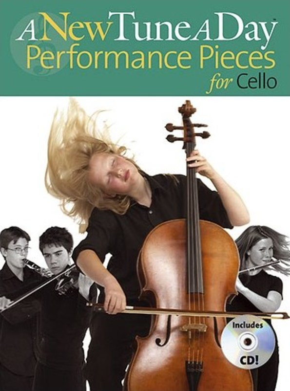 A New Tune A Day Performance Pieces Cello Bk/cd
