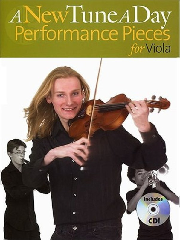 A New Tune A Day Performance Pieces Viola Bk/cd
