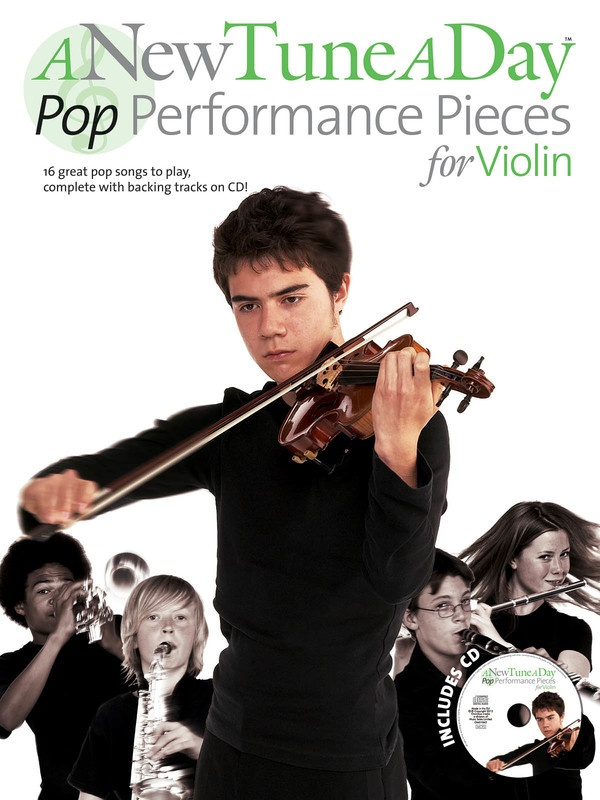 A New Tune A Day Pop Performance Pieces Violin Bk/cd