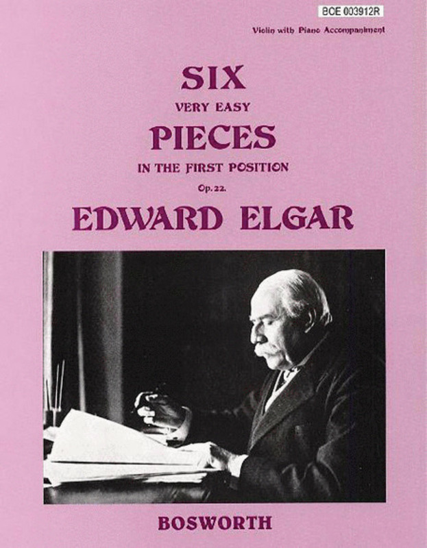 Elgar 6 Easy Pieces Op22 Violin/piano