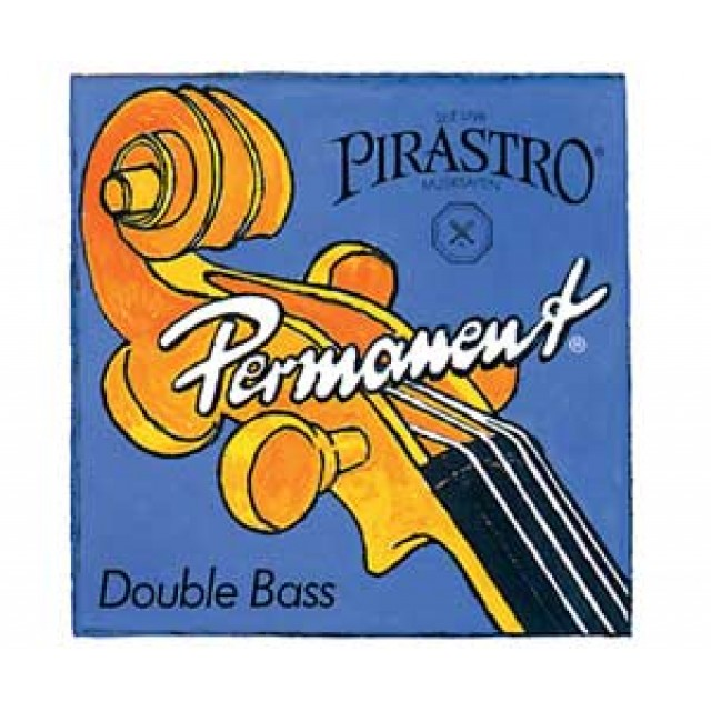 Pirastro Permanent Double Bass String Set 3/4