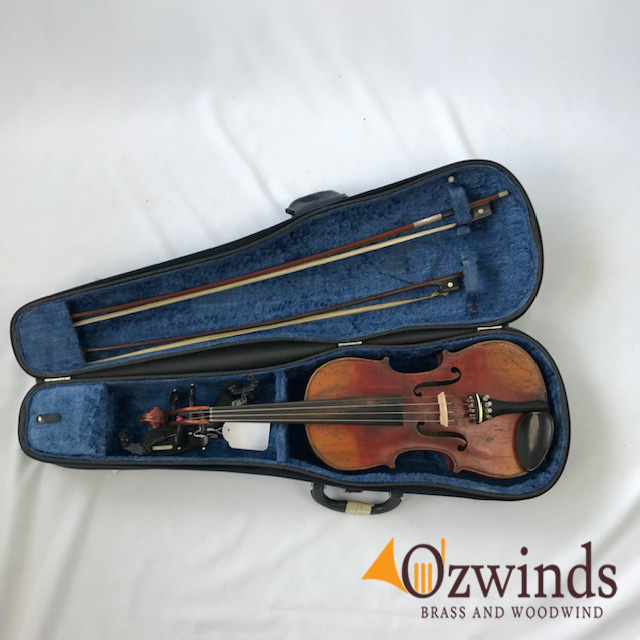 19th Century German Trade Stradivarius Copy Violin