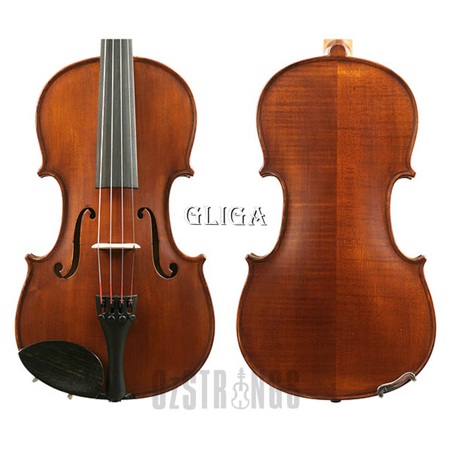 Gliga II Violin Outfit - Dark Antique Finish - 1/2 Size