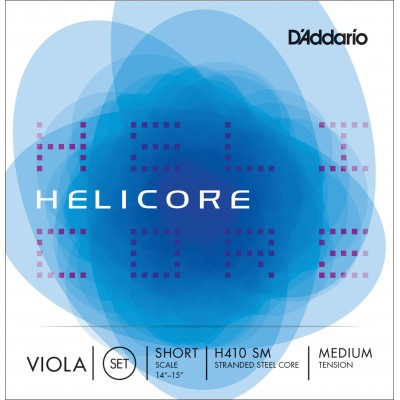 D'Addario Helicore Viola String Set, Short Scale, Medium Tension