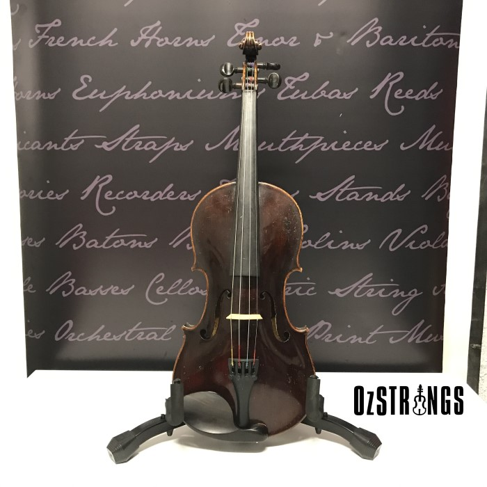 German Trade C.1920 Strad (Laumann) copy with Thomastic strings
