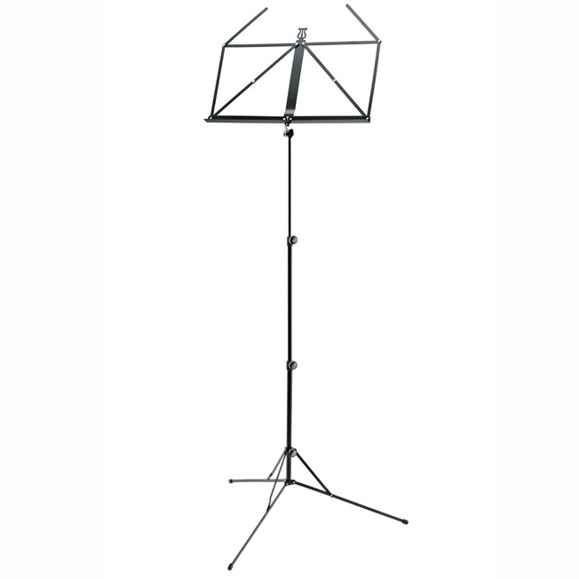 K&M COMPACT MUSIC STAND 101 WITH CARRY BAG - (MADE IN GERMANY)