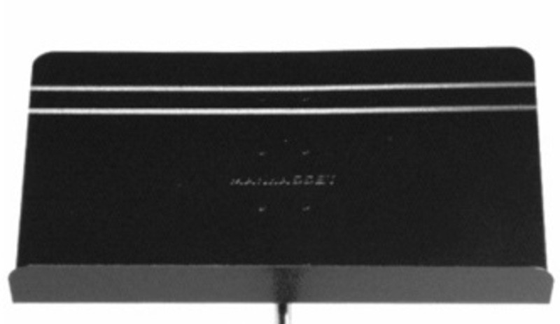 MANHASSET SYMPHONY DESK ONLY ALUMINIUM (BLACK)