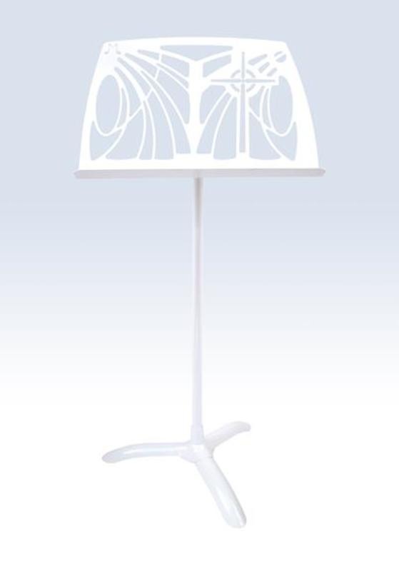 Noteworthy Celtic Cross White Music Stand