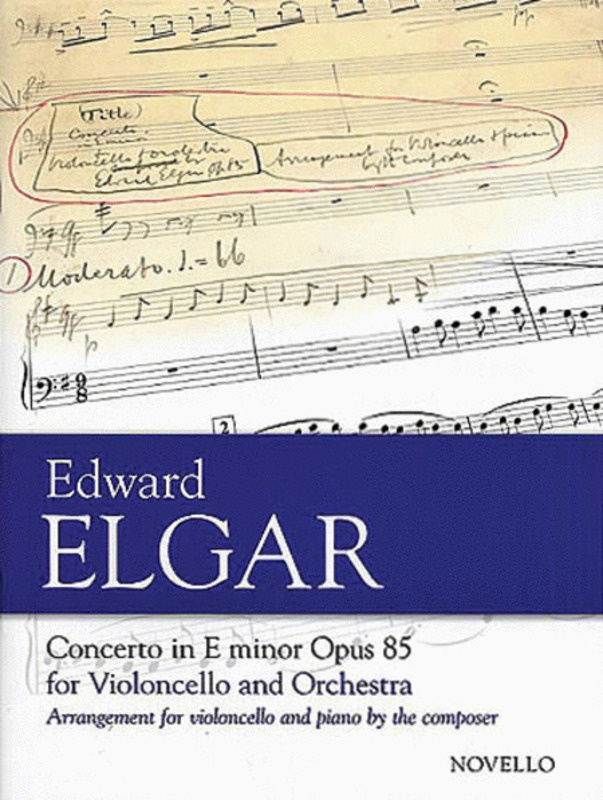 Elgar Concerto Op 85 Cello/piano(new Ed.)