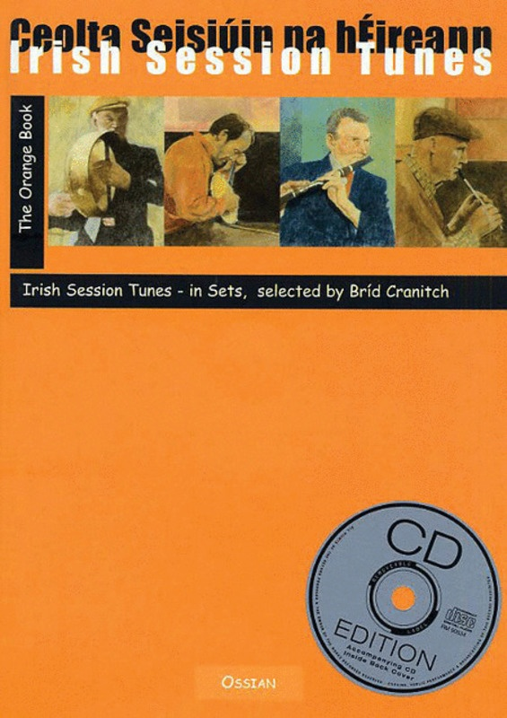 Irish Session Tunes (orange Book)bk/cd