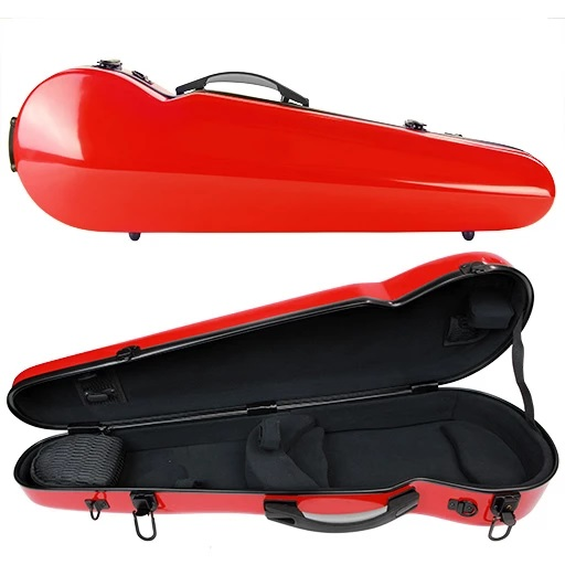 Kreisler Fiberglass Compact Violin Case 3/4 - 4/4 Lots of Colours
