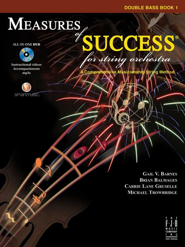 MEASURES OF SUCCESS DOUBLE BASS BK 1 BK/DVD