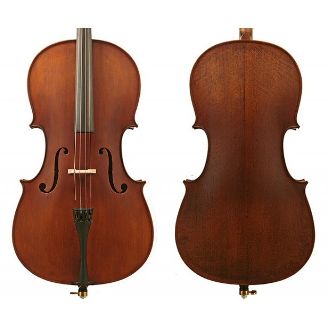 Enrico Student Plus II Cello Outfit - 4/4 Size