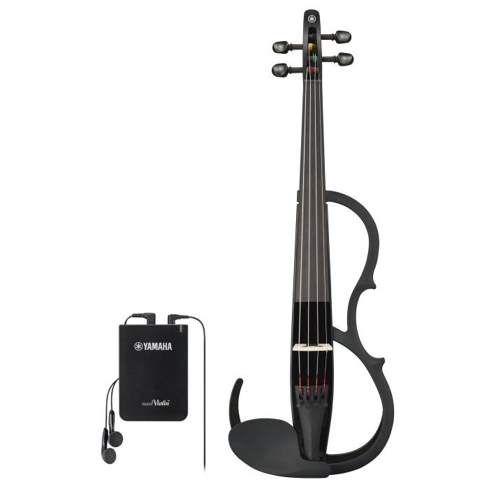 YAMAHA SILENT VIOLIN YSV-104BLII NEW MODEL (BLACK)