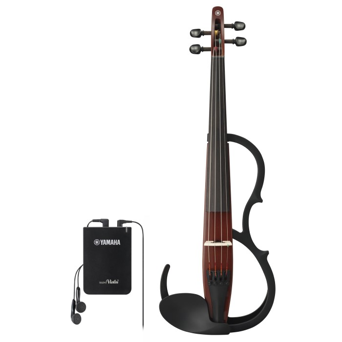 YAMAHA SILENT VIOLIN YSV-104BRII NEW MODEL (BROWN)