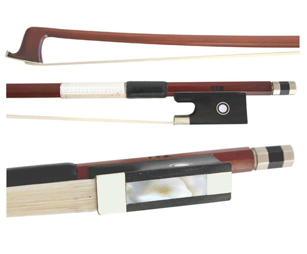 FPS Violin Bow 4/4 Full-Size Brazilwood Horsehair